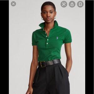 Ralph Lauren green pool shirt 👚
